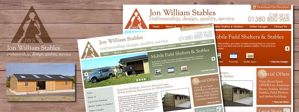 Stables Web Page Design